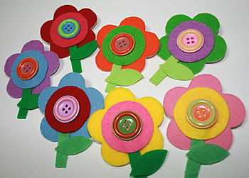 Flower brooches 2