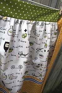 Audrey & Maude Apron Fabric Detail