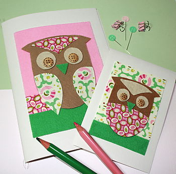Mother & Baby Owl Journals