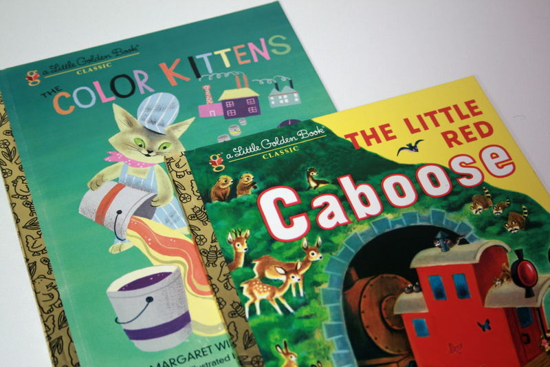 Colourful Little Golden Books