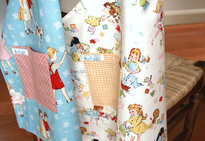 Retro Classic Aprons Close Up