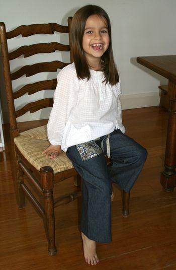 Pants seated