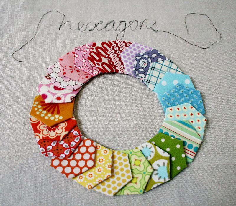 Hexagons rainbow