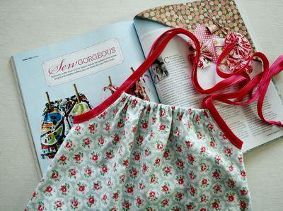 Corrie's summer dress