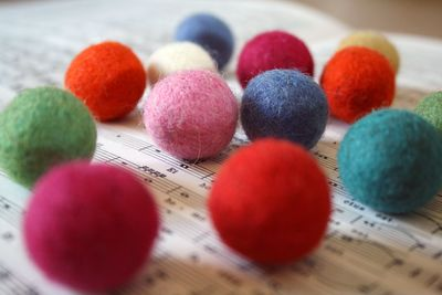 Felt balls 1