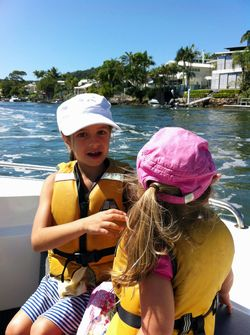 Boating Noosa River