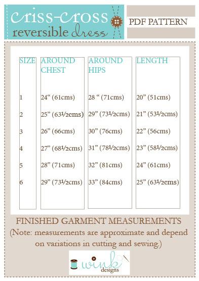 Criss-Cross Fin Measure