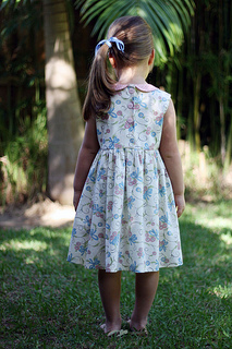 Madeline Dress Back Fl D Small