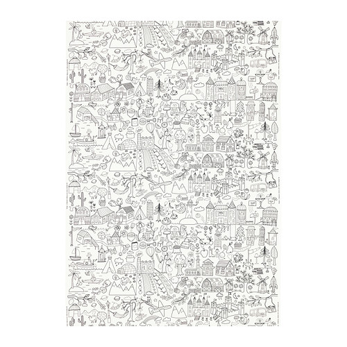 Ikea tidny fabric