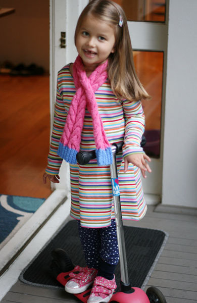 Knit Dress modelled 2