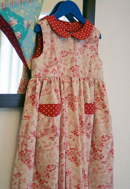 Madeline Dress Eiffel Tower Fl D 2