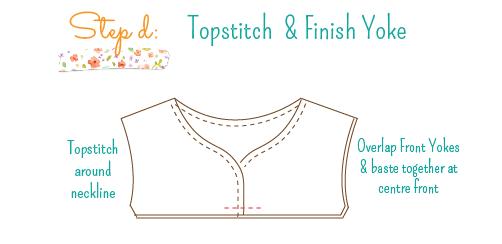 Simply Sweet Strip Dress Tute 3