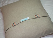 Linen_car_cushion_back_detail_2